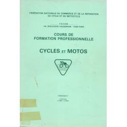 Cours formation cycles et motocycles (1970 / 80): le moteur