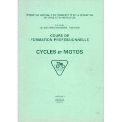 Cours formation cycles et motocycles (1970 / 80): Carburation
