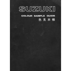 SUZUKI (catalogue échantillons couleurs 02 / 1975)