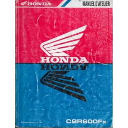 HONDA CBR 600 Fx 1999 (Manuel atelier 12 / 1998)