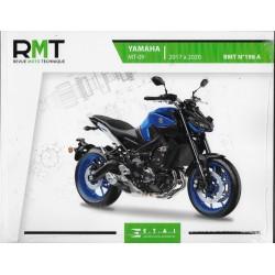 Yamaha MT-09 (2017 à 2020) RMT 198 A