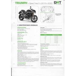 TRIUMPH Speed Triple S de 2018 à 2020 (Fiche RMT)