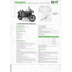 TRIUMPH Speed Triple RS de 2018 à 2020 (Fiche RMT)