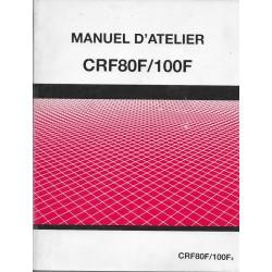 HONDA CRF 80F / 100F de 2004 (manuel atelier 11 / 2003)