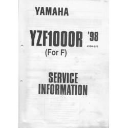 YAMAHA YZF-R1 de 1998