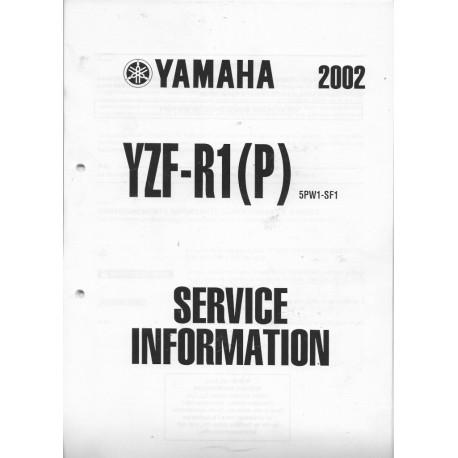 YAMAHA YZF-R1 (P) de 2002 et YZF-R1(R) de 2003