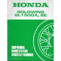 HONDA GL 1500 A / SE (X) de 1999 (Additif 09 / 1998)