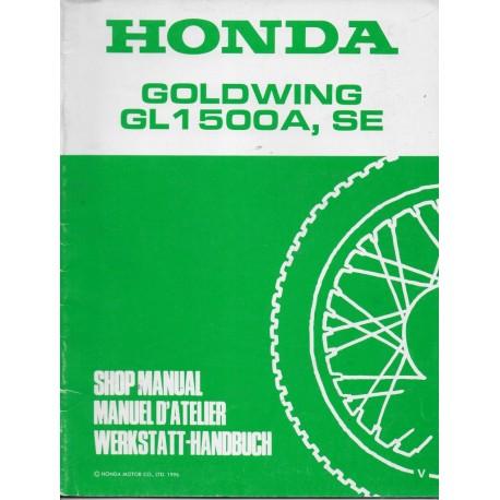 HONDA GL 1500 A / SE (V) de 1997 (Additif 02 / 1997)