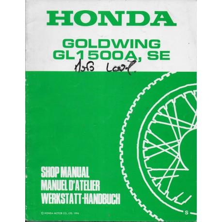HONDA GL 1500 A / SE (S) de 1995 (Additif 08 / 1994)