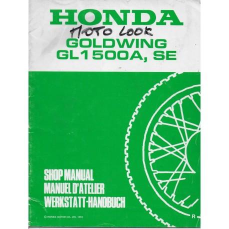 HONDA GL 1500 A / SE (R) de 1994 (Additif 11 / 1993)