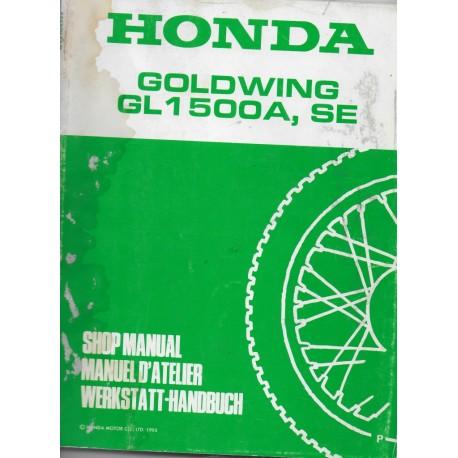 HONDA GL 1500 A / SE (P) de 1993 (Additif 02 / 1993)