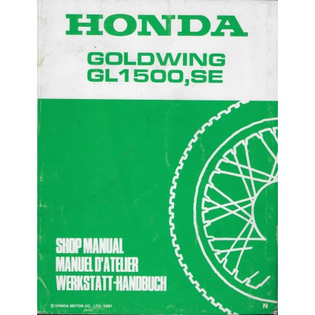 HONDA GL 1500 SE (N) de 1992 (Additif 12 / 1991)