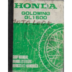 HONDA Goldwing GL 1500 (manuel atelier de base 04 / 1988)