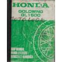 HONDA GL 1500 Goldwing (manuel atelier de base 04 / 1988)