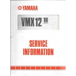 Manuel d'atelier Yamaha V.MAX 1200