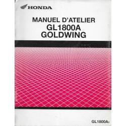 HONDA GL 1800 A2 Golwing de 2002 (Additif 10 / 2001)
