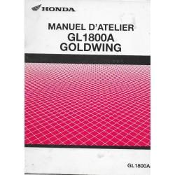 HONDA GOLDWING GL 1500 (manuel atelier de base 04/88)