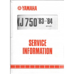 Manuel d'atelier Yamaha xj 750