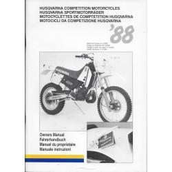 HUSQVARNA WR 400 et autres HVA de 1988