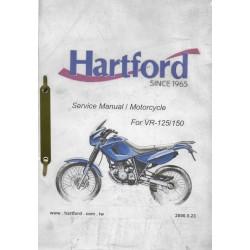 HARTFORD VR-125 / 150 (2000 à 2003) Manuel atelier