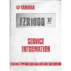Manuel d'atelier Yamaha fzr 1000