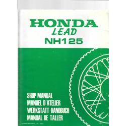 HONDA LEAD NH 125 (Manuel de base mars 1983)