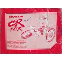 HONDA CR 125 R Type KZ4 de 2000