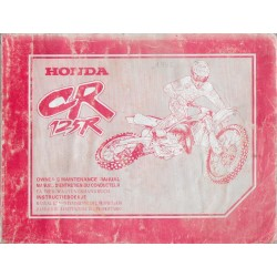 HONDA CR 125 R 1998 Type KZ4