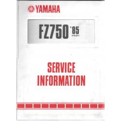 Manuel d'atelier Yamaha fz 750