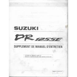 SUZUKI DR 125 SE (Manuel atelier additif 11 / 1996)