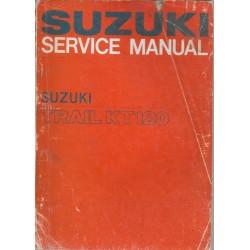SUZUKI Trail KT 120 (Manuel atelier 08 / 1967)