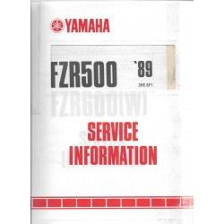 Manuel d'atelier Yamaha FZR 600 1989