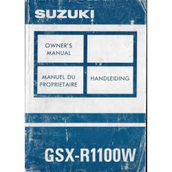 SUZUKI GSX-R 1100 WP modèle 1993 (10 / 1992)