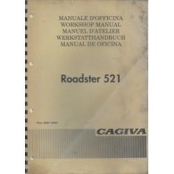 Manuel atelier CAGIVA Roadster 521 (1994)