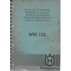 Husqvarna WRE 125 manuel atelier