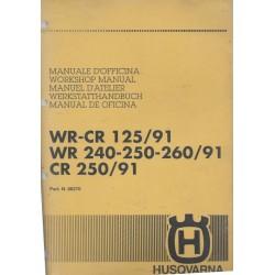Manuel atelier Husqvarna 125-260 91