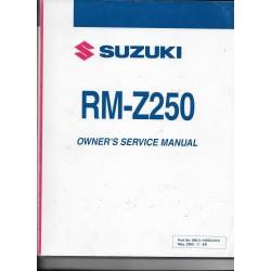 SUZUKI RM-Z 250 K9 modèle 2009 (05 / 2008)