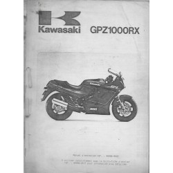 KAWASAKI GPZ 1000 RX (Manuel atelier additif)