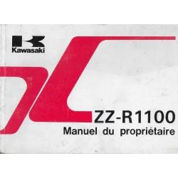 KAWASAKI ZZ-R 1100 D2 de 1994 (12 / 1993) en français