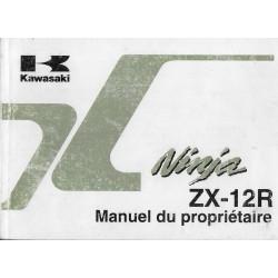 KAWASAKI Ninja ZX-12R (ZX 1200-A1) de 2000 (03 / 2000)