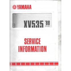 Manuel d'atelier Yamaha XV 535