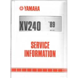 Manuel d'atelier Yamaha XV 240 de 1989