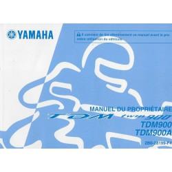 YAMAHA TDM 900 / 900 A de 2009 type 2BO (09 /2008)