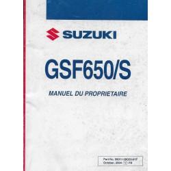 SUZUKI GSF 650 / S K5 de 2005