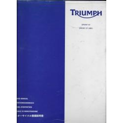 TRIUMPH 1050 cc SPRINT ST - ST (ABS) de 2005 (03 / 2005)