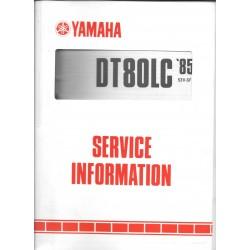 Manuel d'atelier Yamaha DT 80 LC