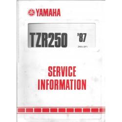 Manuel d'atelier YAMAHA 250 TZR 1987