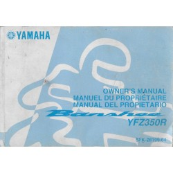 Manuel du propriétaire Yamaha YFZ350R