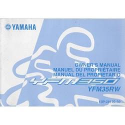 YAMAHA quad YFM35RW 2006