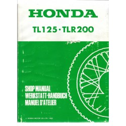 HONDA TL 125. TLR 200